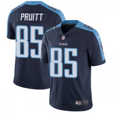 Youth Nike Tennessee Titans MyCole Pruitt Navy Blue Alternate Vapor Untouchable Jersey - Limited