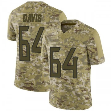 Youth Nike Tennessee Titans Nate Davis Camo 2018 Salute to Service Jersey - Limited