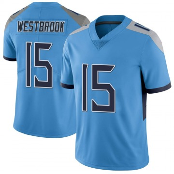 Youth Nike Tennessee Titans Nick Westbrook Light Blue Vapor Untouchable Jersey - Limited