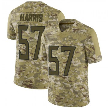 Youth Nike Tennessee Titans Nigel Harris Camo 2018 Salute to Service Jersey - Limited