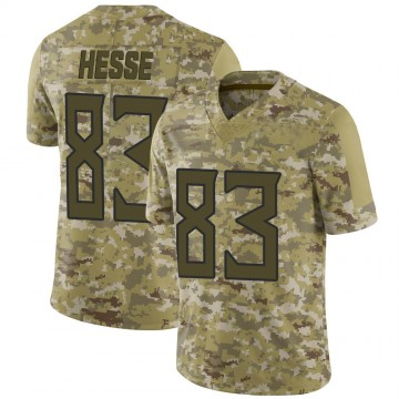 Youth Nike Tennessee Titans Parker Hesse Camo 2018 Salute to Service Jersey - Limited