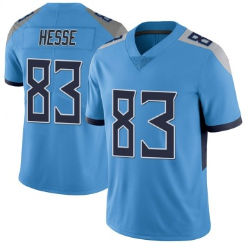 Youth Nike Tennessee Titans Parker Hesse Light Blue Vapor Untouchable Jersey - Limited