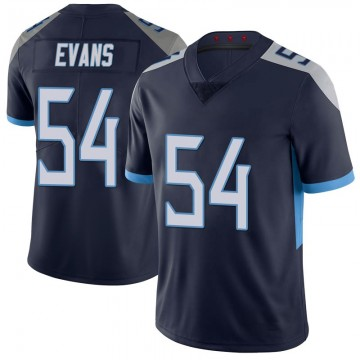 Youth Nike Tennessee Titans Rashaan Evans Navy 100th Vapor Untouchable Jersey - Limited
