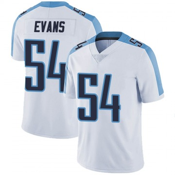 Youth Nike Tennessee Titans Rashaan Evans White Vapor Untouchable Jersey - Limited