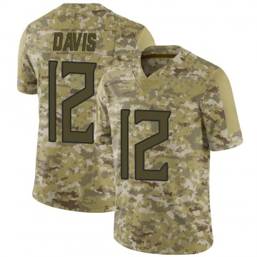 Youth Nike Tennessee Titans Rashard Davis Camo 2018 Salute to Service Jersey - Limited