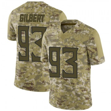 Youth Nike Tennessee Titans Reggie Gilbert Camo 2018 Salute to Service Jersey - Limited