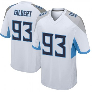 Youth Nike Tennessee Titans Reggie Gilbert White Jersey - Game