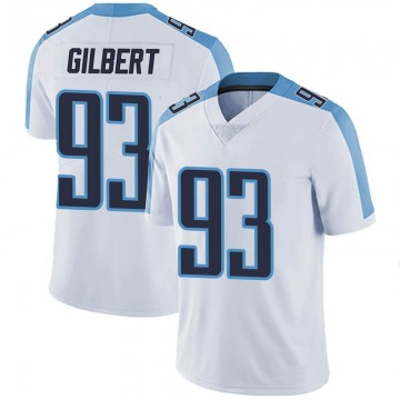 Youth Nike Tennessee Titans Reggie Gilbert White Vapor Untouchable Jersey - Limited