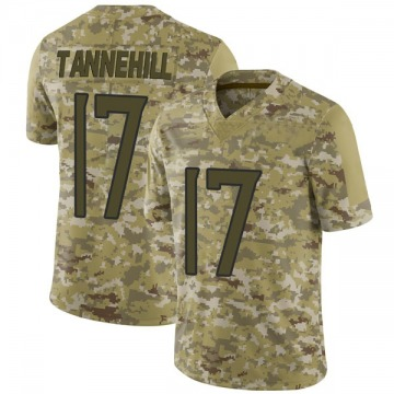 Youth Nike Tennessee Titans Ryan Tannehill Camo 2018 Salute to Service Jersey - Limited