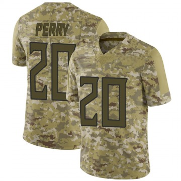 Youth Nike Tennessee Titans Senorise Perry Camo 2018 Salute to Service Jersey - Limited