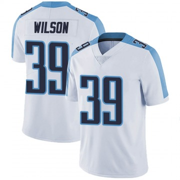 Youth Nike Tennessee Titans Shaun Wilson White Vapor Untouchable Jersey - Limited