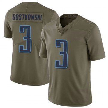 Youth Nike Tennessee Titans Stephen Gostkowski Green 2017 Salute to Service Jersey - Limited