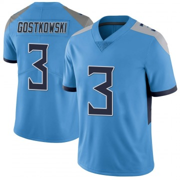 Youth Nike Tennessee Titans Stephen Gostkowski Light Blue Vapor Untouchable Jersey - Limited