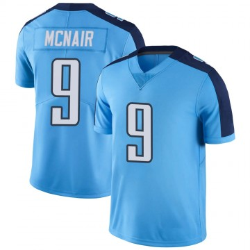 Youth Nike Tennessee Titans Steve McNair Light Blue Color Rush Jersey - Limited