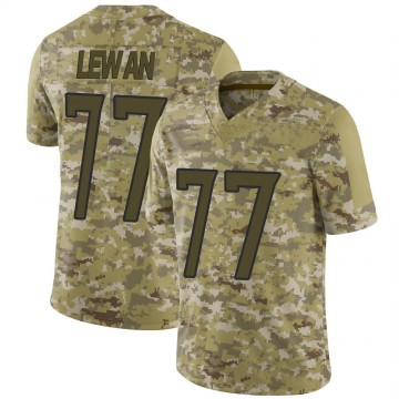 Youth Nike Tennessee Titans Taylor Lewan Camo 2018 Salute to Service Jersey - Limited