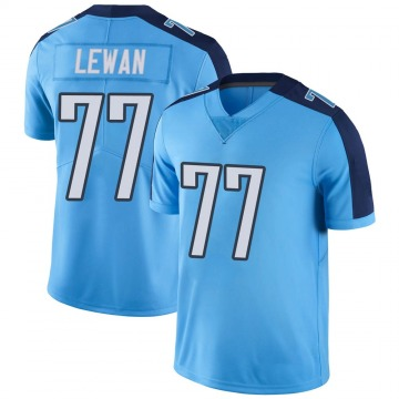 Youth Nike Tennessee Titans Taylor Lewan Light Blue Color Rush Jersey - Limited