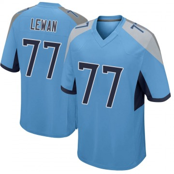 Youth Nike Tennessee Titans Taylor Lewan Light Blue Jersey - Game