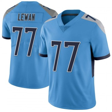 Youth Nike Tennessee Titans Taylor Lewan Light Blue Vapor Untouchable Jersey - Limited