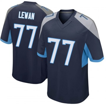 Youth Nike Tennessee Titans Taylor Lewan Navy Jersey - Game