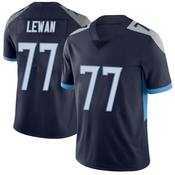 Youth Nike Tennessee Titans Taylor Lewan Navy Vapor Untouchable Jersey - Limited