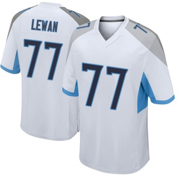 Youth Nike Tennessee Titans Taylor Lewan White Jersey - Game