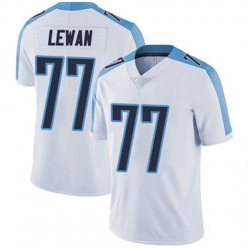 Youth Nike Tennessee Titans Taylor Lewan White Vapor Untouchable Jersey - Limited