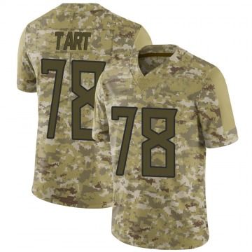 Youth Nike Tennessee Titans Teair Tart Camo 2018 Salute to Service Jersey - Limited