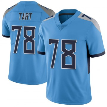 Youth Nike Tennessee Titans Teair Tart Light Blue Vapor Untouchable Jersey - Limited