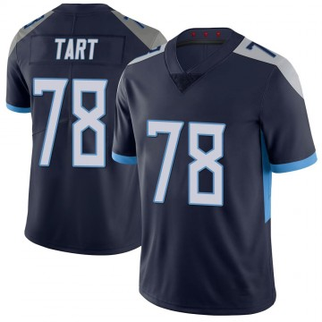 Youth Nike Tennessee Titans Teair Tart Navy 100th Vapor Untouchable Jersey - Limited