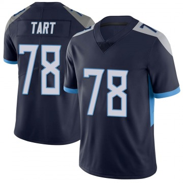 Youth Nike Tennessee Titans Teair Tart Navy Vapor Untouchable Jersey - Limited