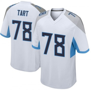 Youth Nike Tennessee Titans Teair Tart White Jersey - Game
