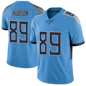 Youth Nike Tennessee Titans Tommy Hudson Light Blue Vapor Untouchable Jersey - Limited