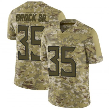 Youth Nike Tennessee Titans Tramaine Brock Camo 2018 Salute to Service Jersey - Limited