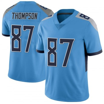 Youth Nike Tennessee Titans Trevion Thompson Light Blue Vapor Untouchable Jersey - Limited