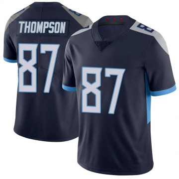 Youth Nike Tennessee Titans Trevion Thompson Navy 100th Vapor Untouchable Jersey - Limited