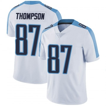 Youth Nike Tennessee Titans Trevion Thompson White Vapor Untouchable Jersey - Limited