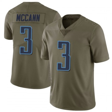 Youth Nike Tennessee Titans Tucker McCann Green 2017 Salute to Service Jersey - Limited