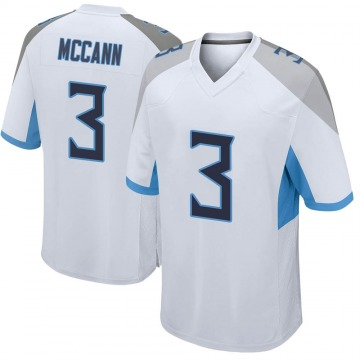 Youth Nike Tennessee Titans Tucker McCann White Jersey - Game