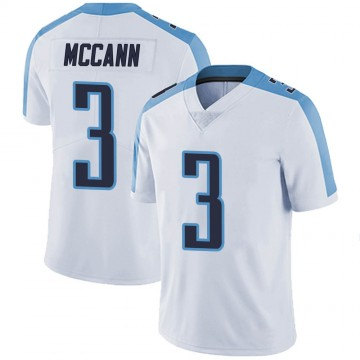 Youth Nike Tennessee Titans Tucker McCann White Vapor Untouchable Jersey - Limited