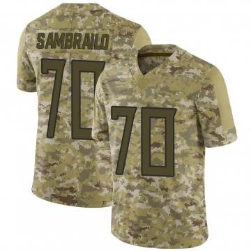 Youth Nike Tennessee Titans Ty Sambrailo Camo 2018 Salute to Service Jersey - Limited