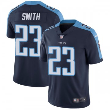 Youth Nike Tennessee Titans Tye Smith Navy Blue Alternate Vapor Untouchable Jersey - Limited