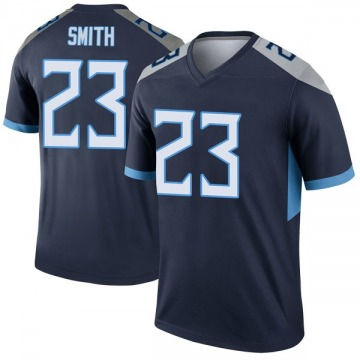 Youth Nike Tennessee Titans Tye Smith Navy Jersey - Legend