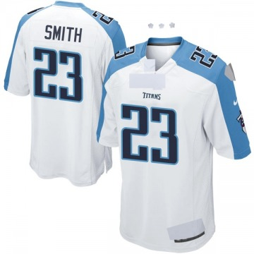 Youth Nike Tennessee Titans Tye Smith White Jersey - Game