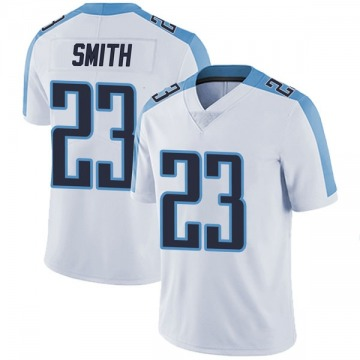 Youth Nike Tennessee Titans Tye Smith White Vapor Untouchable Jersey - Limited
