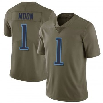Youth Nike Tennessee Titans Warren Moon Green 2017 Salute to Service Jersey - Limited