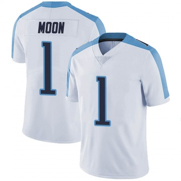 Youth Nike Tennessee Titans Warren Moon White Vapor Untouchable Jersey - Limited