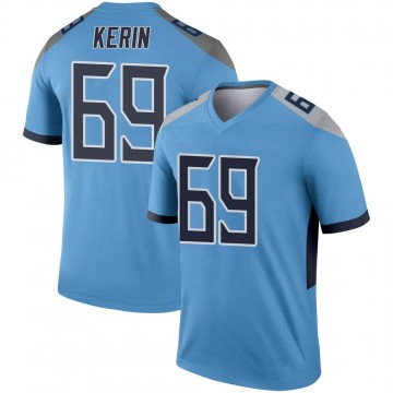 Youth Nike Tennessee Titans Zac Kerin Light Blue Jersey - Legend